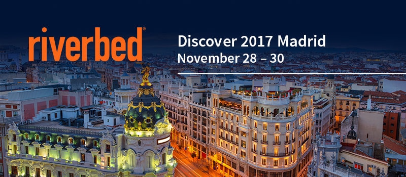 Riverbed and HPE Madrid