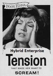 Hybrid Enterprise Tension Headache