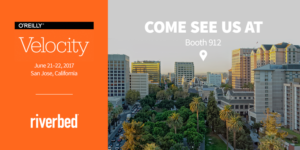 Come visit Riverbed in booth 912 at Velocity in San Jose on June 21-22