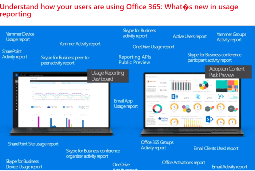 Office 365 usage