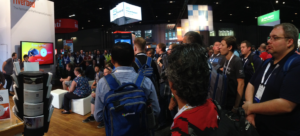 Riverbed Booth Giveaway Drawing at Microsoft Ignite