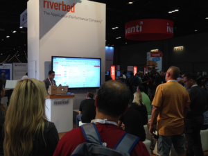 Demonstrating Riverbed SD-WAN at Microsoft Ignite