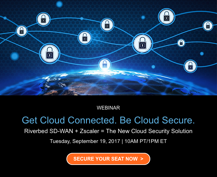 Register for our SD-WAN and cloud security webinar