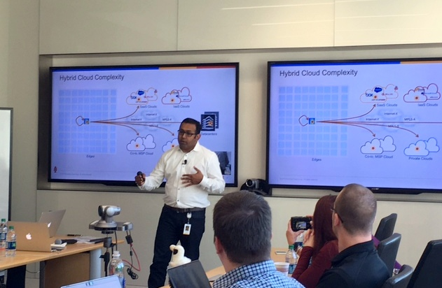 Tech Field Day 15 (TFD15) with Parimal Puranik presenting