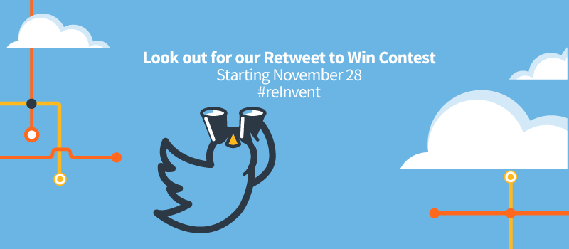 Riverbed AWS re:Invent 2017 Retweet to Win Contest