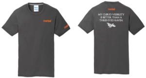 Riverbed T-shirts for AWS re:Invent