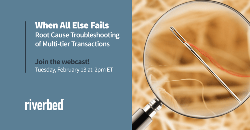 When All Else Fails - Don't miss webcast