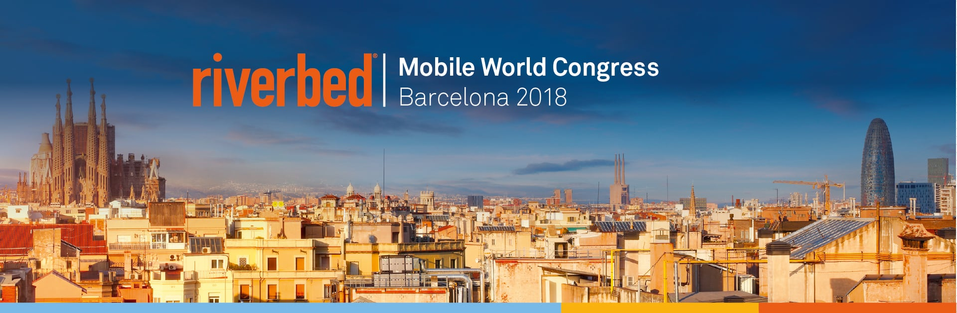 Come see Riverbed at Mobile World Congress 18