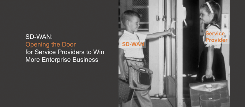 SD-WAN: Opening the Door for Service Providers to Win More Enterprise Business