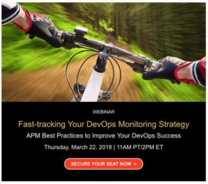 Register for our webinar on using APM to improve DevOps