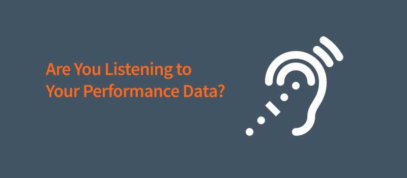 The sound of performance monitoring