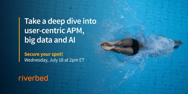 Deep Dive on User-Centric APM, Big Data and AI