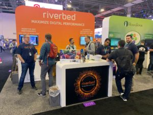 Riverbed demonstrates how to maximize cloud and digital performance at AWS re:Invent