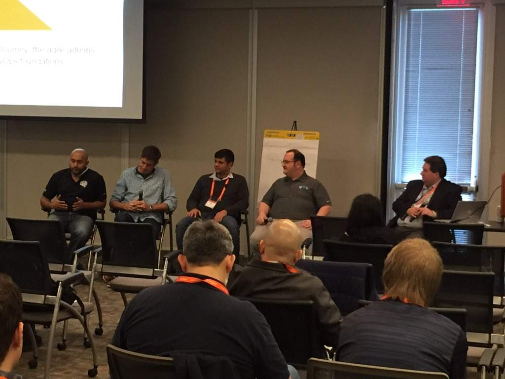 DevOps panel at Riverbed APM User Conference