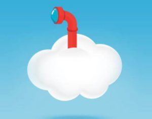 Cloud with periscope