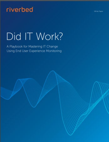 ROI of Digital Experience Monitoring, End User Experience Monitoring,