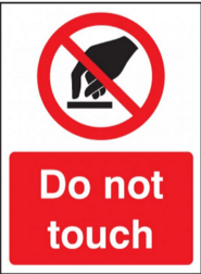 Do not touch!
