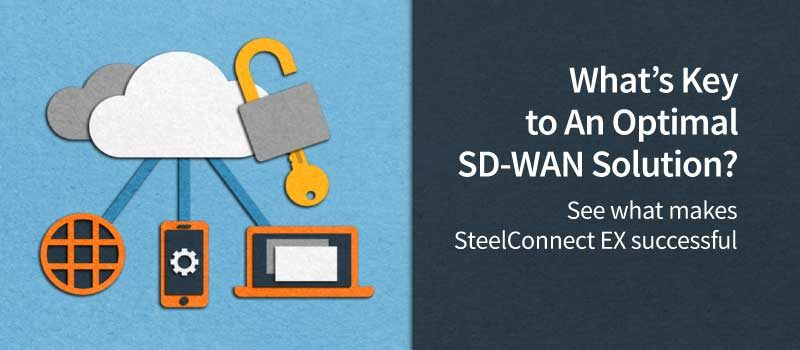 SteelConnect EX SD-WAN Architecture Overview