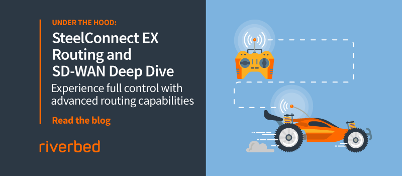 Enterprise-Grade SD-WAN: SteelConnect EX Advanced Routing Capabilities