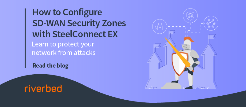 How to Configure SD-WAN Security Zones with SteelConnect EX